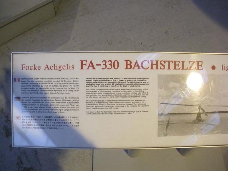 Focke-Achgelis FA 330 Bachstelze 1