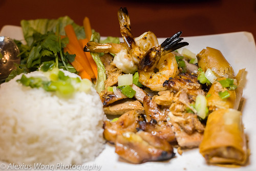 Grilled Shrimp, Chicken, Spring Roll, Anh Dao, Washington DC | by AK_Wong