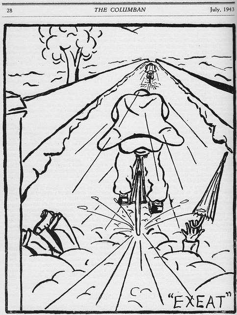 """Exeat"", July 1943."