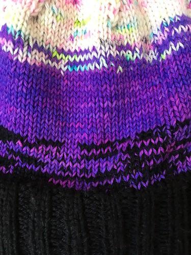Meraki Hat in Hedgehog Fibres and Malabrigo | by patternandbranch