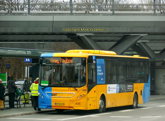 2011 Volvo B7RLE Keolis 2603 Easter rail replacement bus