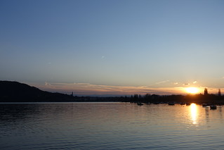 Sunset @ Petit Port @ Annecy-le-Vieux @ Lake Annecy | by *_*