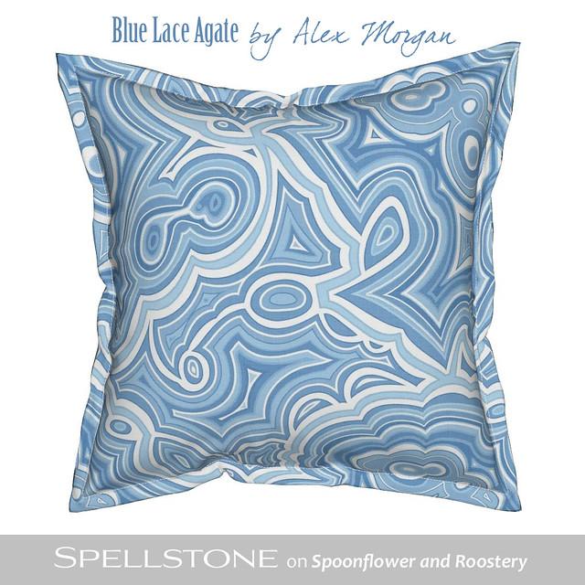 Blue Lace Agate by Alex Morgan