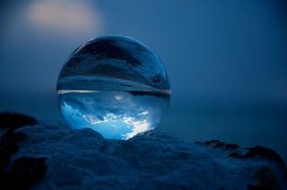 The Beach as Orb   by Rantz