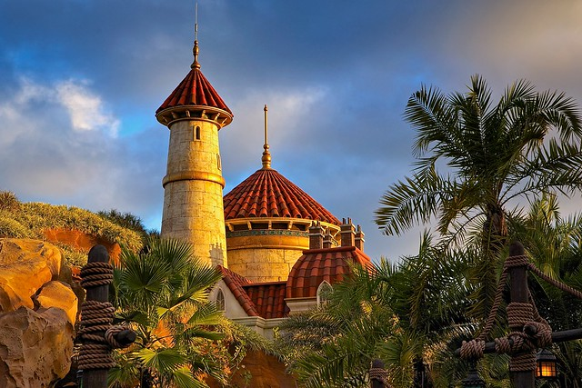 Golden Hour over Prince Eric's Castle