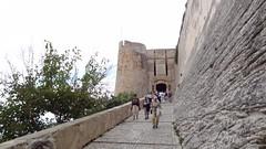 Подъем в старый город Bonifacio