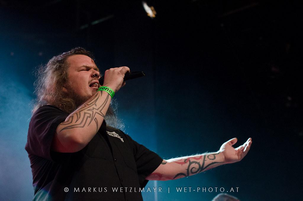 "German Dark Metal band EISREGEN performing live @ ((szene)), Vienna, Austria on November 30, 2012.   NO USE WITHOUT PERMISSION.  Check it out @ <a href=""https://www.wet-photo.at/2012/12/eisregen-szene-wien/"" rel=""noreferrer nofollow"">WET-phto</a>"