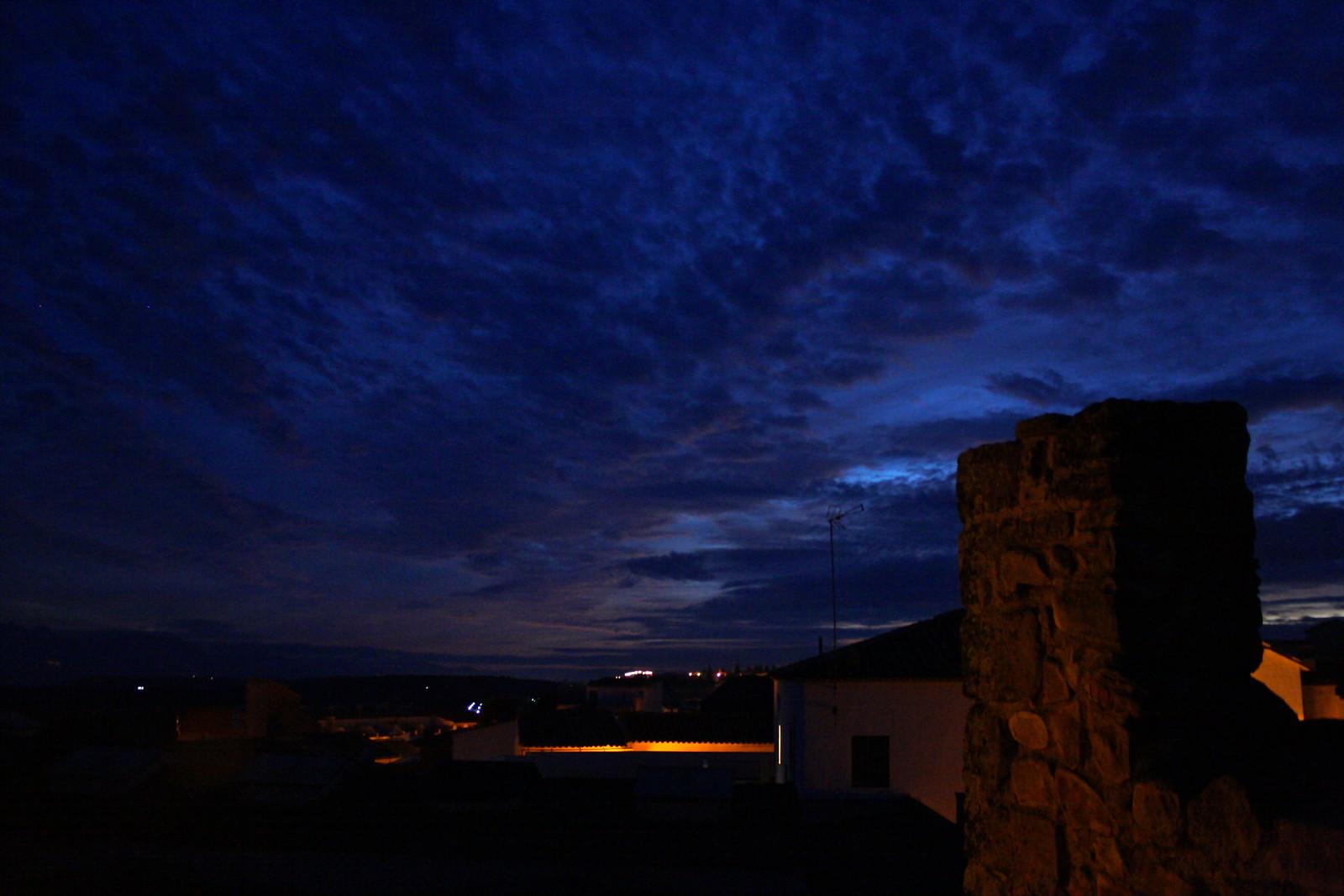 Sabiote, Spain at night