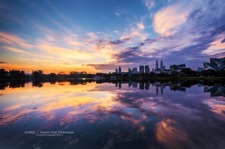 Sunrise at Taman Tasik Titiwangsa | by Nur Ismail Photography