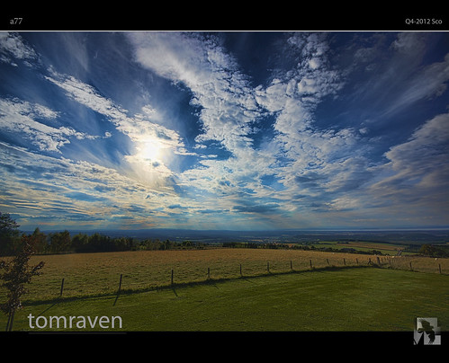 blue sky sun clouds scotland sony sigma bigsky alpha drama hdr a77 forres findhorn tomraven bestcapturesaoi aravenimage califerhill rememberthatmomentlevel1 rememberthatmomentlevel2 rememberthatmomentlevel3 q42012