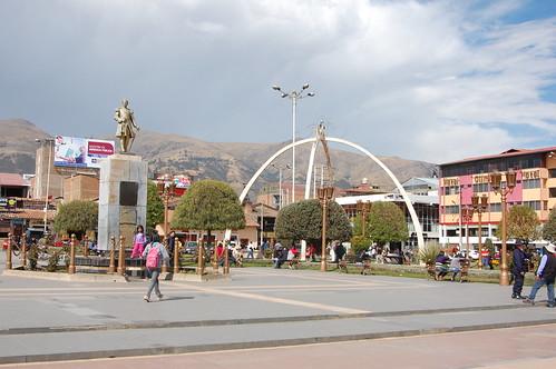 Plaza de la Constitución, Huancayo, Junín, Peru | by blueskylimit