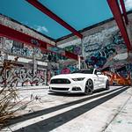 Mustang GT on Velgen Wheels Classic5 Matte Gunmetal 20x9 & 20x10.5