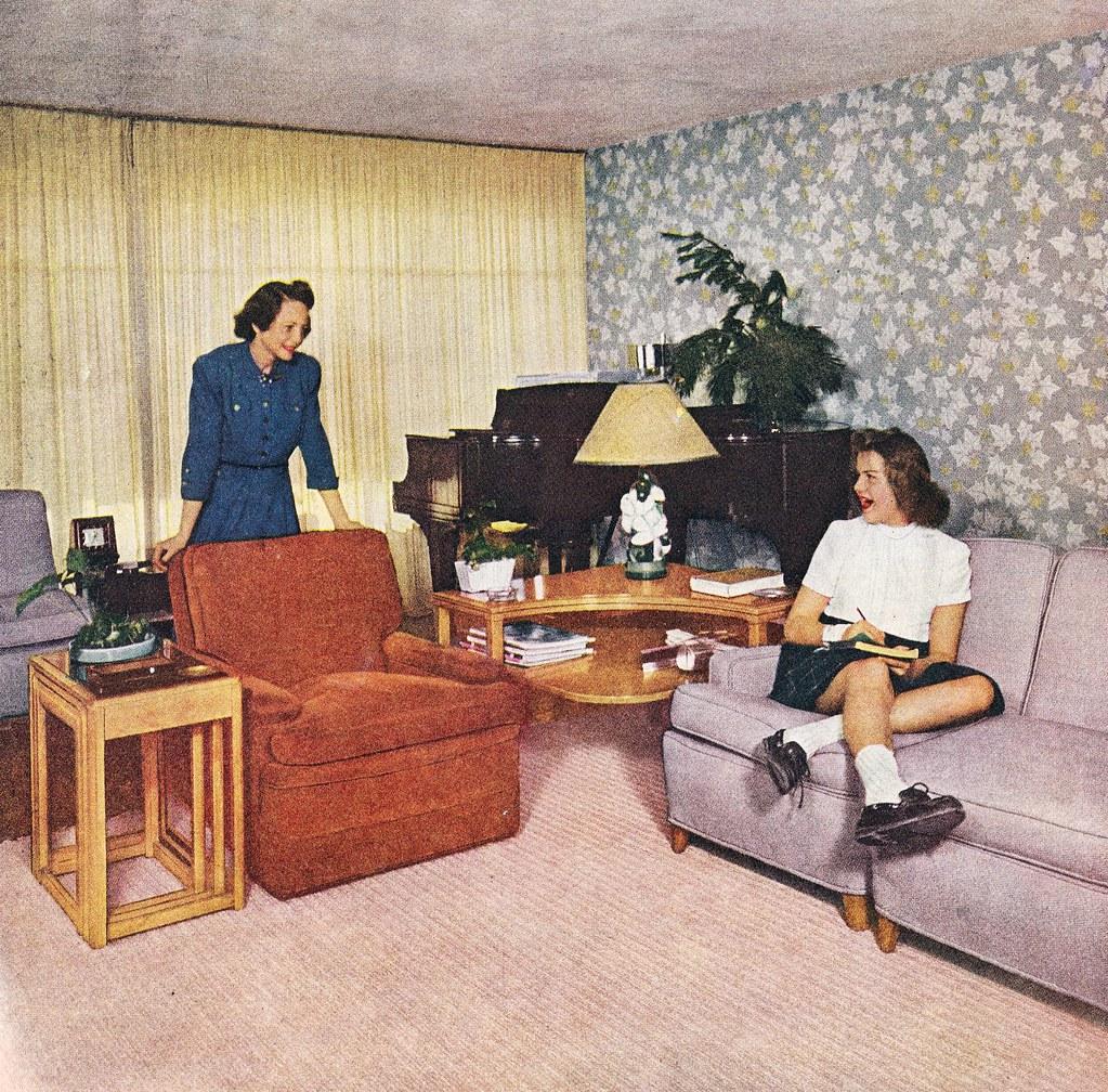 Mom Tells Daughter Dirty Jokes in Dismal Living Room | Flickr
