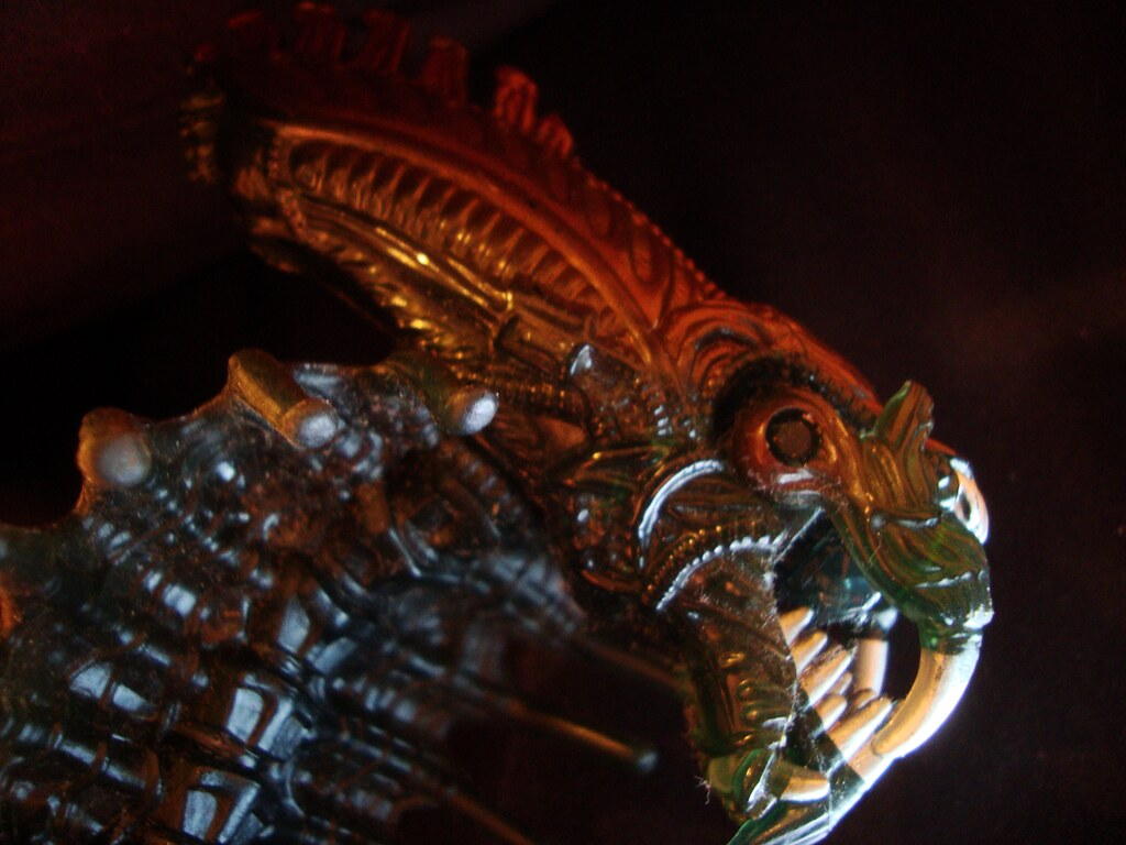 Snake Alien   Totally out of scale with all the other Kenner