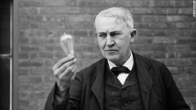 thomas edison, the father of microgeneration