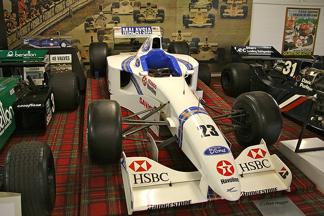 Jan Magnussen's 1997 Stewart Racing SF01 Formula One Car at The Donington Collection