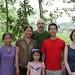 Les femmes de Thai Nguyen en compagnie d'Hugo, Minh Tam et Sabrina