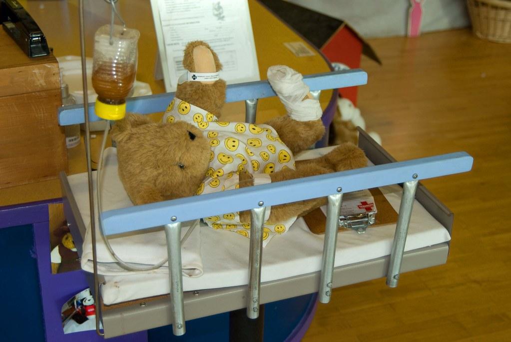 Teddy Bear Hospital   At the Vermont Teddy Bear Factory, Bur