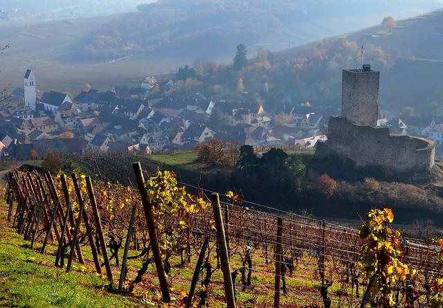 Katzenthal et le château du Wineck