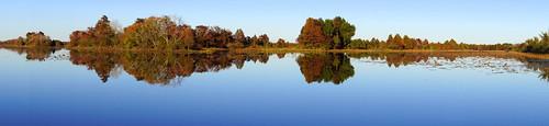 lake reflection water texas ngc houston panoramic reservoir absolutelystunningscapes sheldonreservoir