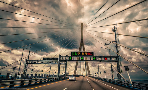 "Incheon Bridge - Korea | by Keith ""Captain Photo"" Cuddeback"
