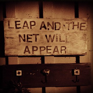leap and the net will appear. | by sarahwulfeck