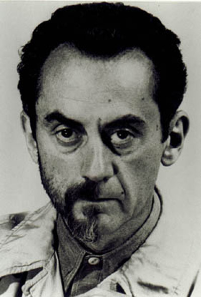 Man Ray (1890-1976) - 1942 Self-Portrait with Half Beard