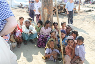 Displaced Rohingya people in Rakhine State | by Foreign and Commonwealth Office