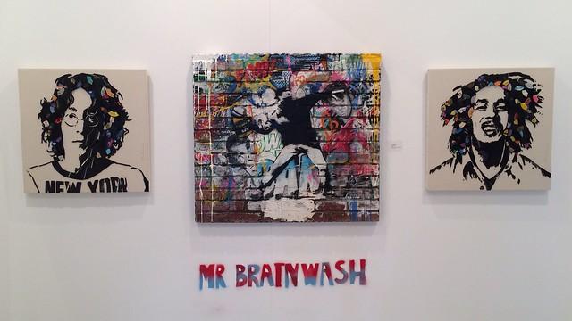 mr brainwash en art marbella 🇪🇸