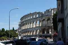 Pula: Amfiteatar