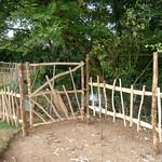 Rustic Fencing & Gate