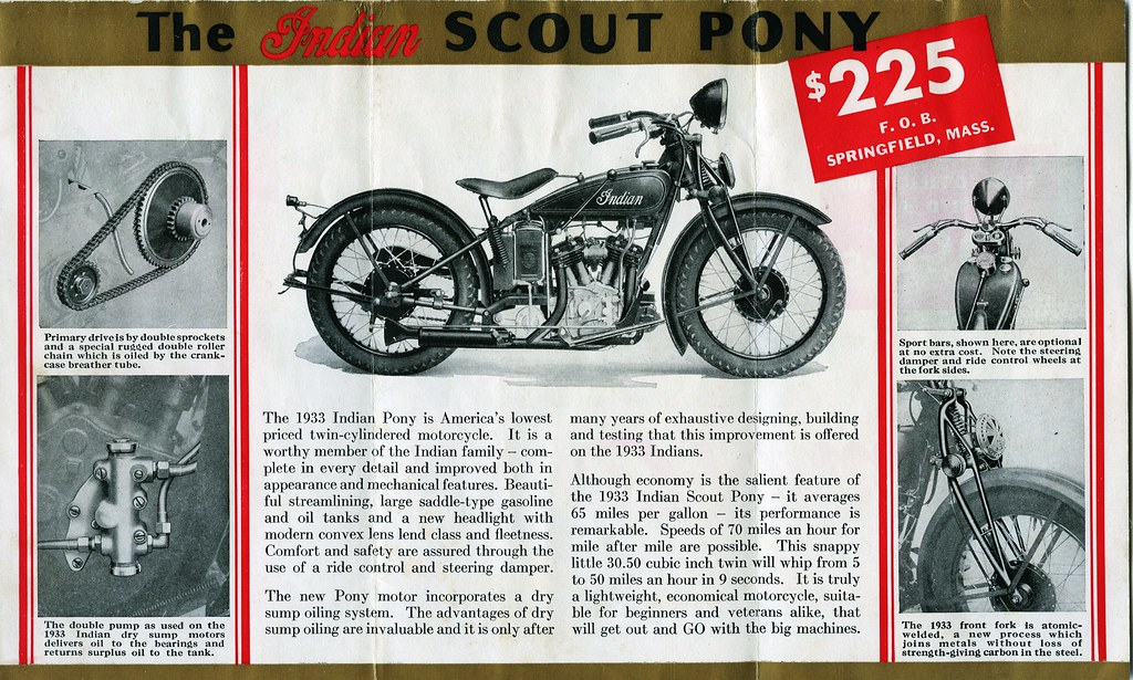 1933 Indian Scout Pony 2of4 | Richard | Flickr