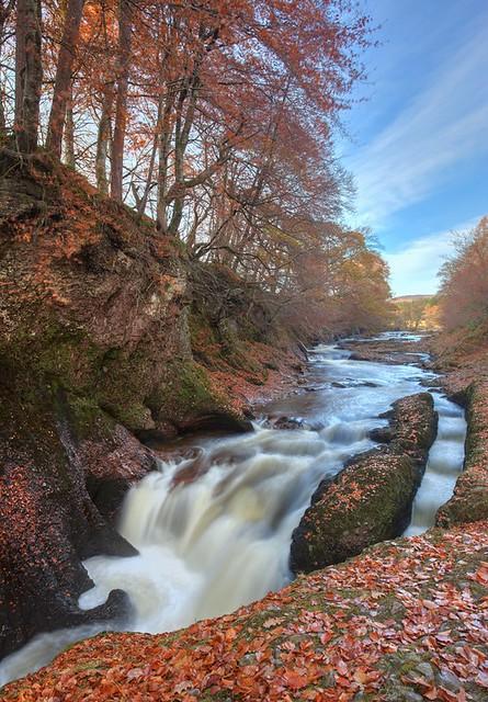 River North Esk, Edzell