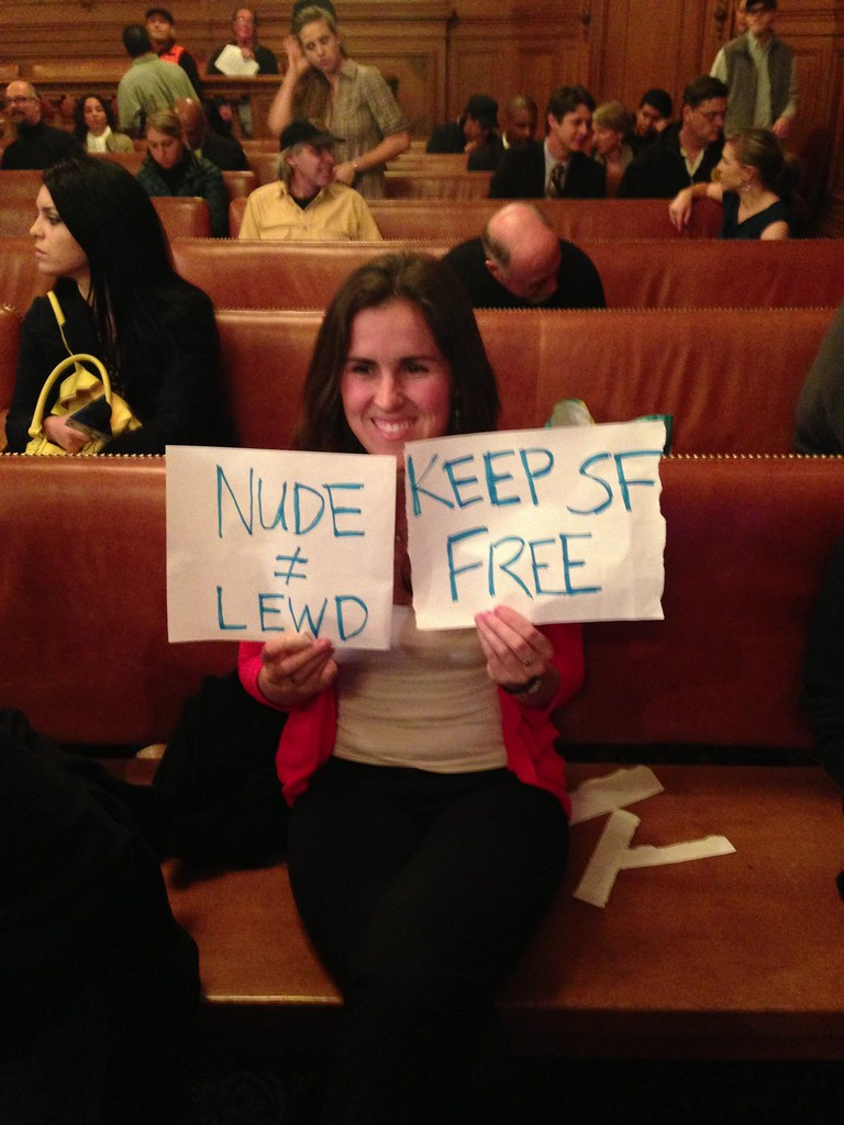 San Francisco approves ban on public nudity, shedding its