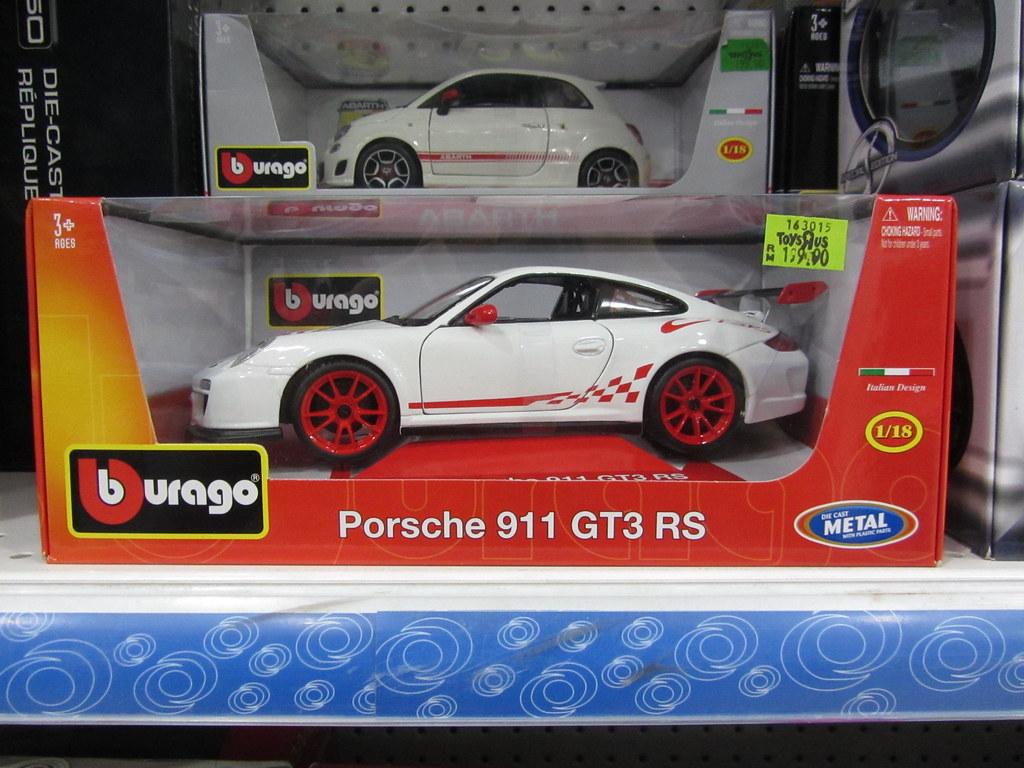 Bburago 1 18 Porsche 911 Gt3 Rs White Toys R Us 1 Borneo R Flickr