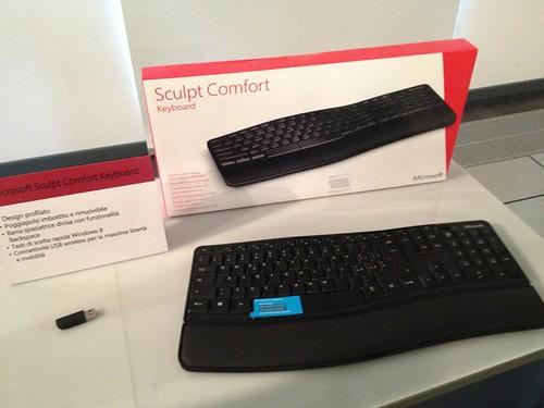 Accessori Hardware mouse tastiere e webcam innovative per Microsoft Windows 8 presentazione milanese press day esclusiva - 36