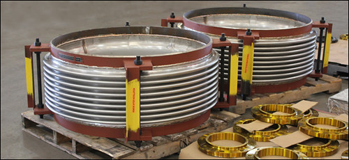 """42"""" Dia. Single Tied Expansion Joints Designed for a Solar Electric Generation Facility"""