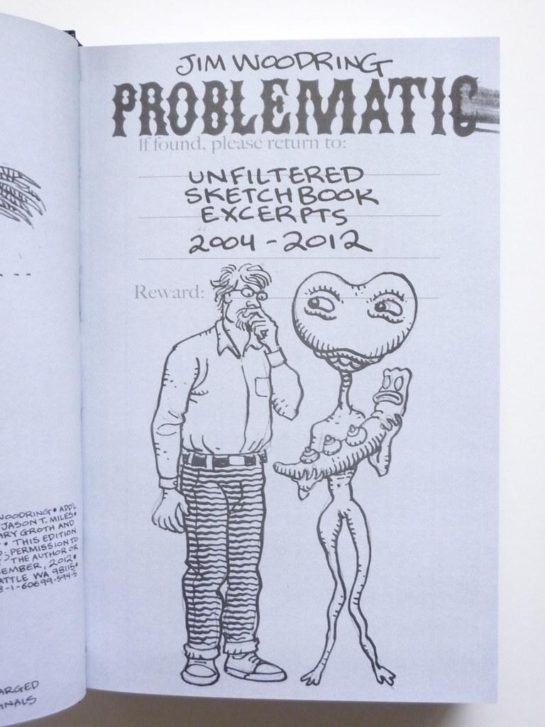 Problematic Sketchbook Drawings 2004 2012 By Jim Woodring
