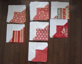 Smitten Blocks Red   by Everyday Fray