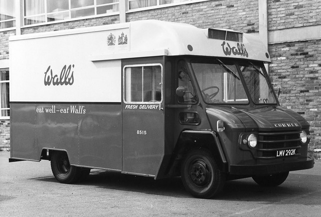 Commer Walk-Thru - Refrigerated Van - Wall's Sausages and Pies - LMV292K