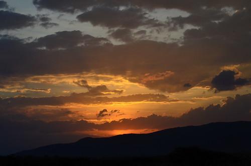 africa sunset kenya samburu