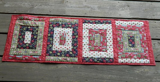 Mom's table runner -front