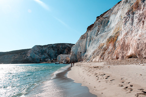 Beach Milos Greece | by T.Vass