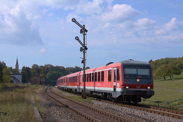 629/628 344 + 628/629 340 in Döggingen