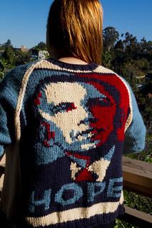 Obama-Rama Cardigan | by iwriteplays