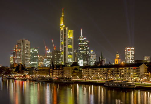 Frankfurt at night | by cfaobam