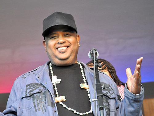 Action Jackson at the Treme Creole Gumbo Fest