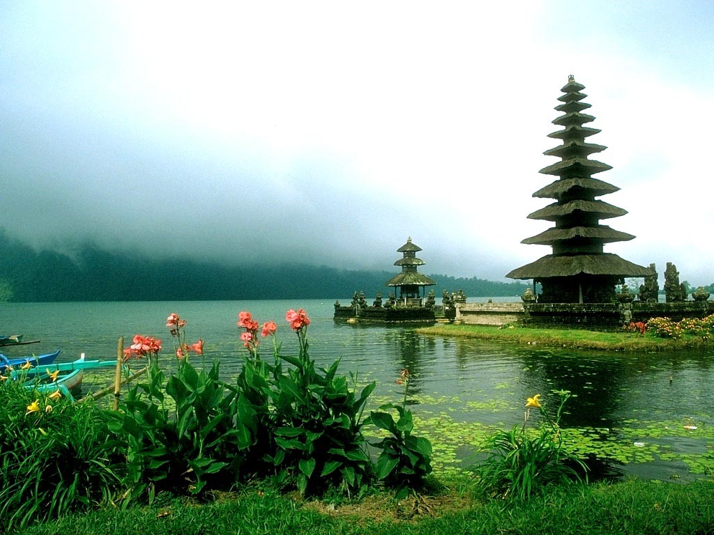 Gambar Pemandangan Di Bali Gambar Lukisan Pemandangan Alam
