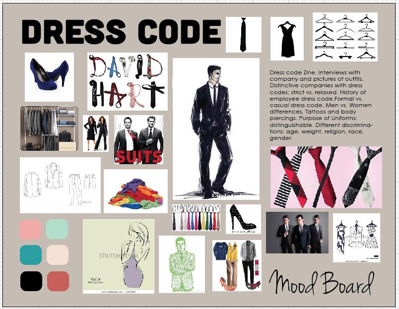 Dress Code Zine moodboard | brianaromancier | Flickr