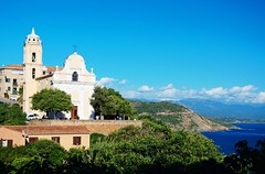 Вид на город Cargèse